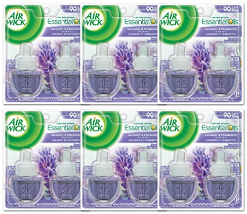 air-wick-78473ct-scented-oil-refill-lavender-chamomile-067oz-2-pack-case-of-6