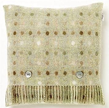 Amazon.com: Bronte pura lana de Nueva Shetland cojín relleno ...