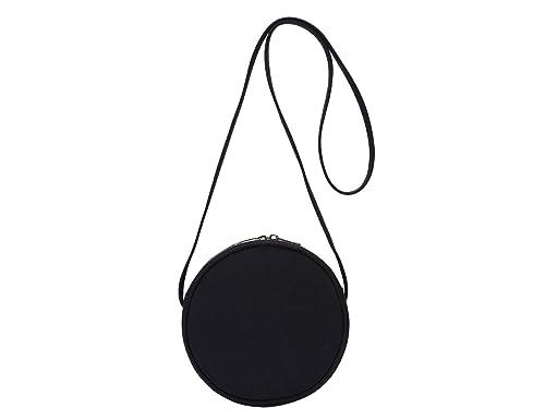 Round Crossbody Wallet, Fashion Circle Crossbody Purse Clutch Handbag Yonben by Yonben