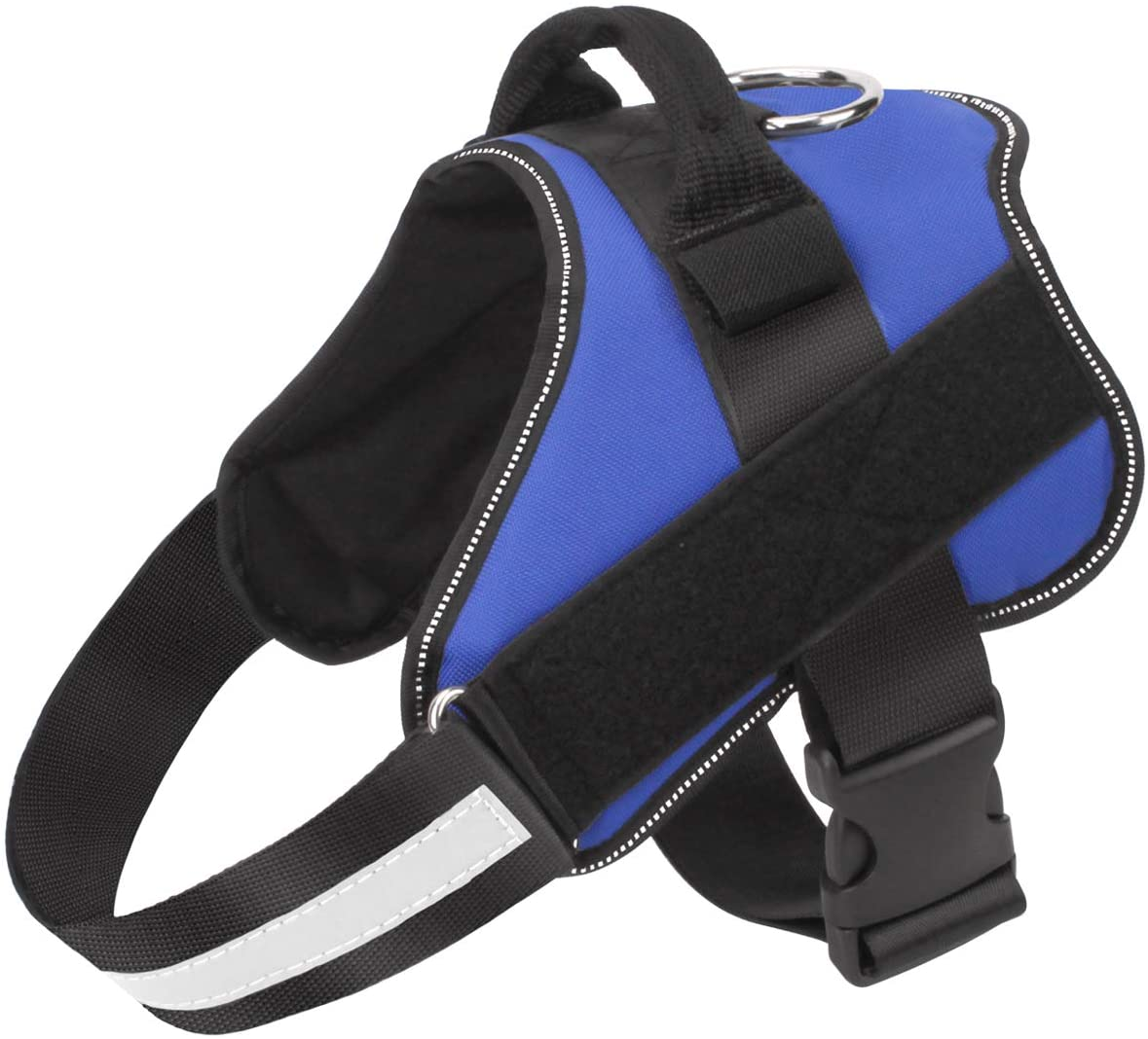 Bolux No-Pull Blue Reflective Dog Vest $16.98 Coupon