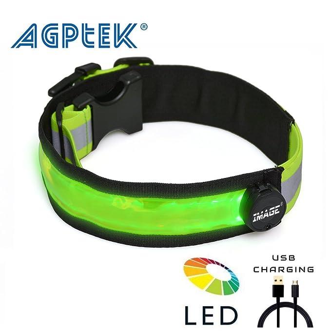 Ceinture de Course Vélo avec LED - AGPtek Ceinture réfléchissant de haute  Visibilité - réglable Ceinture pratique pour Sport, Nuit sécurité -  Accessoire ... f353db01308