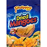 Philippine Brand Dried Mangoes, 3.5oz/100g (Single Pack) For Sale