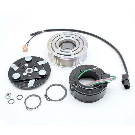 Amazon.com: A/C AC Compressor Clutch Assembly Repair Kit for HONDA CIVIC 2006-2011 1.8 LITER: Automotive