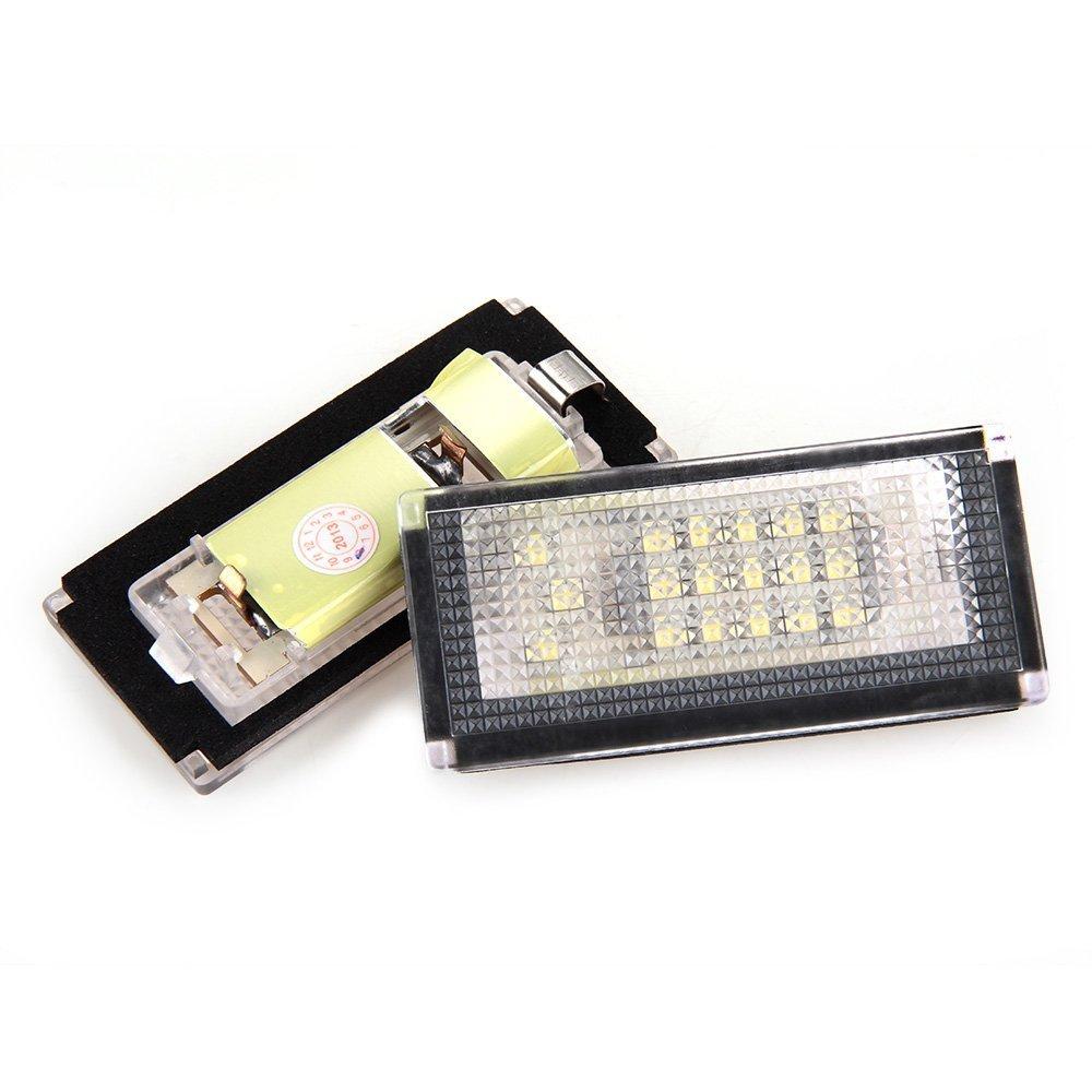 Cikuso 2 x LED License Plate Luce per BMW Mini Cooper R50 R52