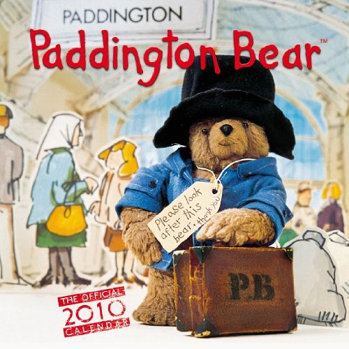 Paddington Bear 2010 Wall Calendar DAZ927 (2010 Calendar Bears)