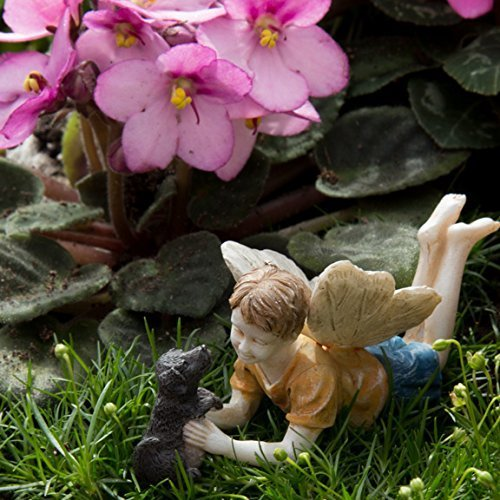 miniature-fairy-garden-limited-edition-boy-fairy-with-dog-ross-and-winston-model-74-home-garden-outd