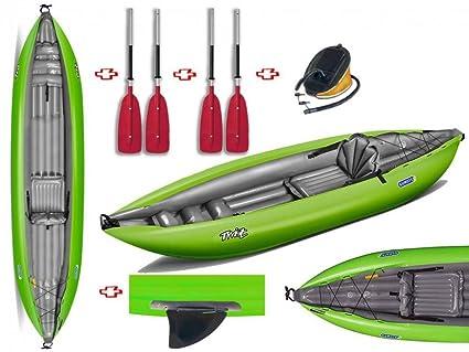 gumotex - Twist N I verde 2018 canoa hinchable con aleta + ...