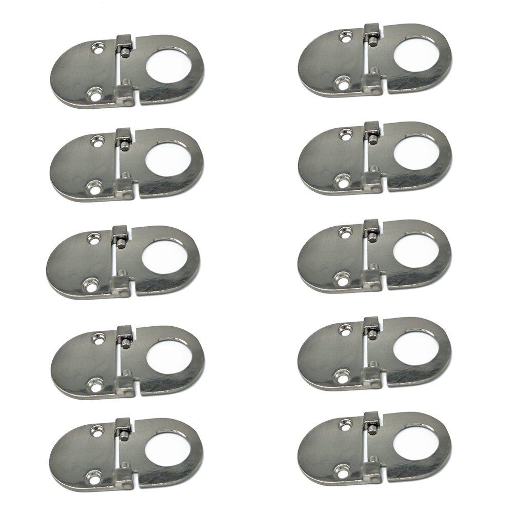 10 x Qrity Mini Maniglia per anta, Maniglie e pomelli cassetti per ...