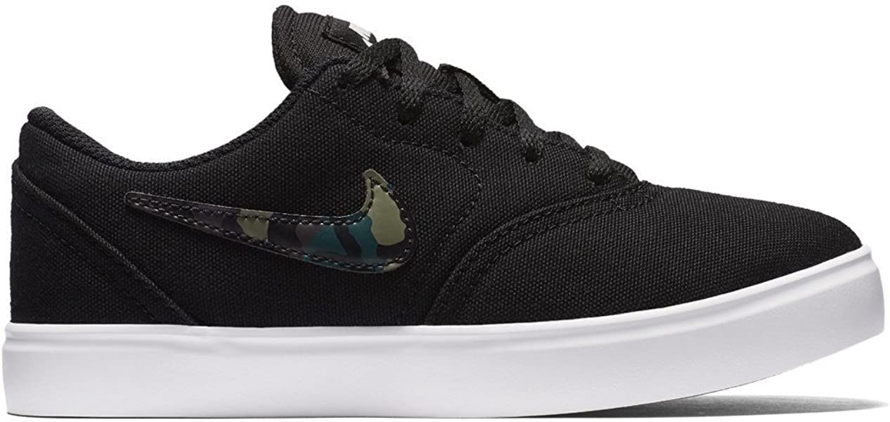 0da6d3be47eae Nike SB Check CNVS (PS) Chaussures Enfants Noir 27.5  Amazon.fr ...