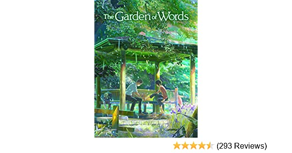 amazoncom the garden of words english dubbed makoto shinkai - Garden Of Words English Dub