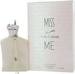 Stella Cadente Miss Me By Stella Cadente For Women Eau De Toilette Spray, 1.7-