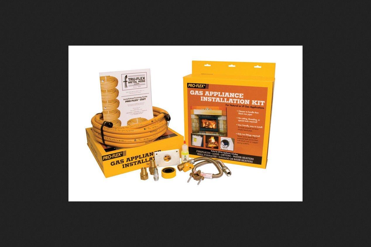 Pro-Flex Gas Appliance Kit