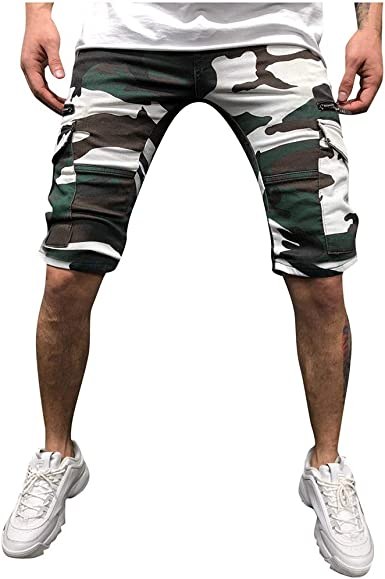 Darringls Pantalones Cortos Hombre, Pantalones Hombre Verano ...