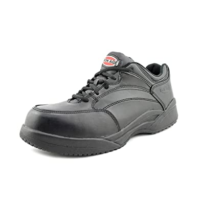 Iron Age Men's Allgood Classic Athletic Oxford,Black Leather,US ...