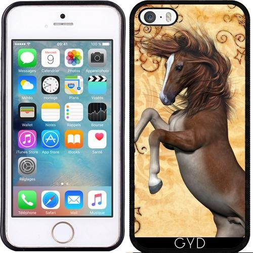 Coque pour Iphone SE - Cheval Merveilleux by nicky2342