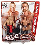 WWE Series 20 Battle Pack: Brock Lesnar vs. Triple H Figure, 2-Pack