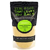Honest to Goodness Organic Couscous Wholewheat, 1 x 500 g