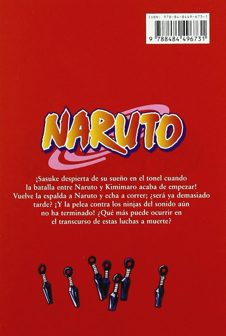 Amazon.com: Naruto 24 (Spanish Edition) (9788484496731 ...