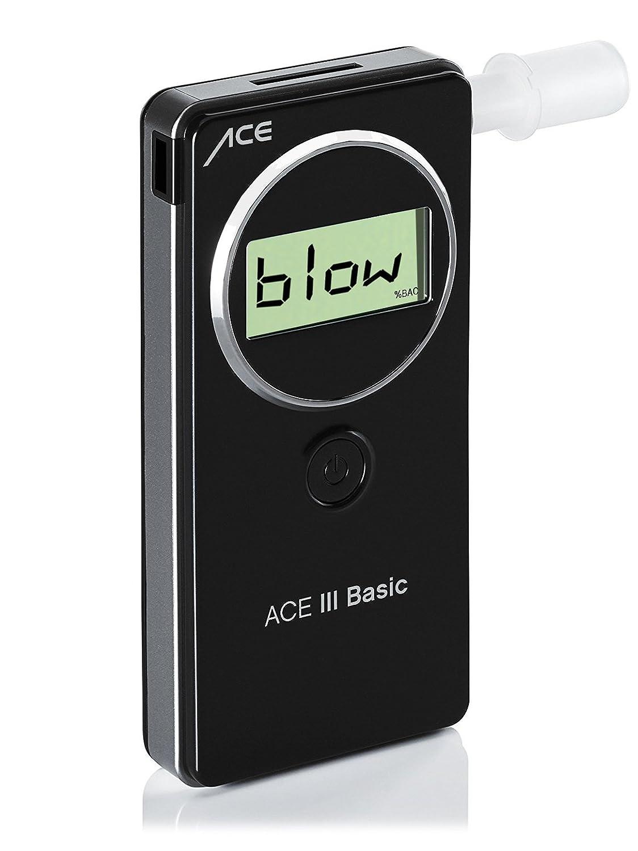 ACE Alkoholtester III Basic, TU-Wien-Messgenauigkeit: 95,60% - Polizeigenau ACE III