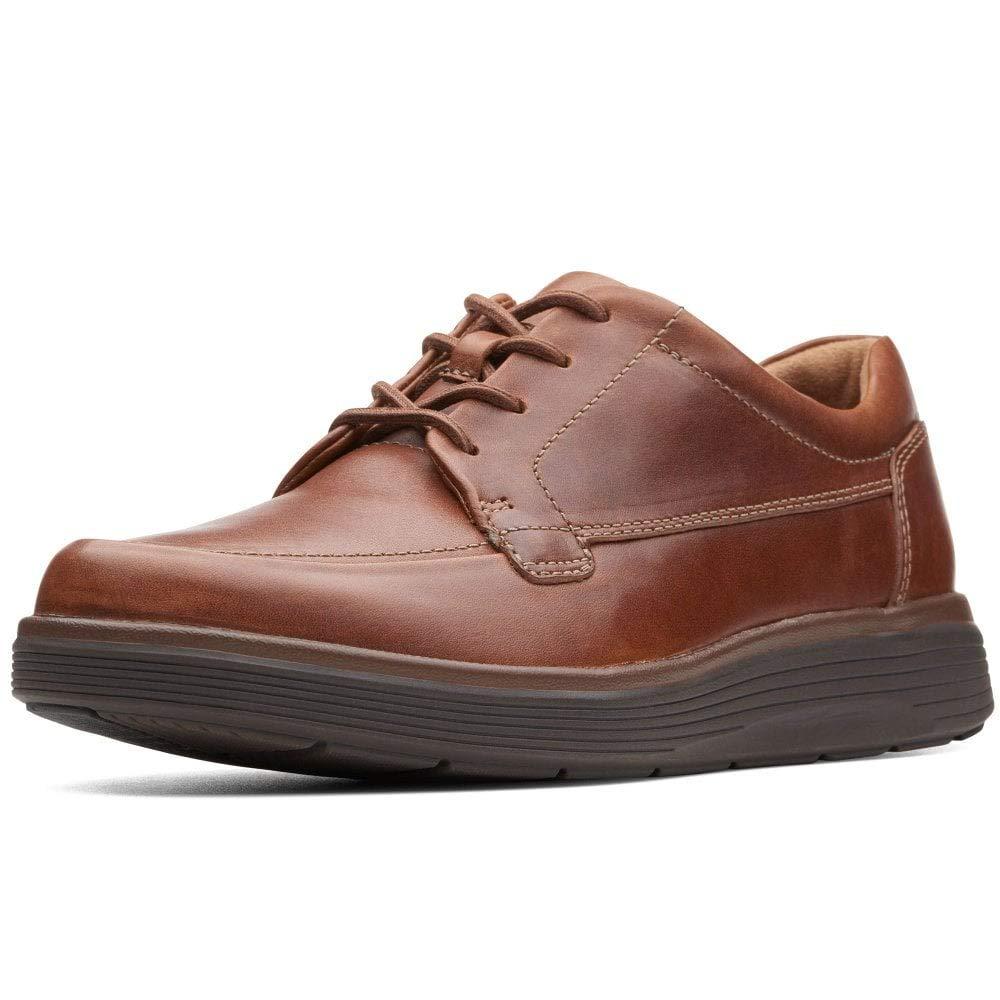 Clarks UN Abode Easy Mens Lässige Lederspitzen Schuhe