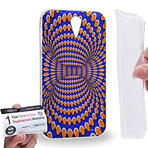 Case88 [HTC Desire 620] Gel TPU Carcasa/Funda & Tarjeta de garantía - Art Fashion Visual Art Effect 17 Art1028