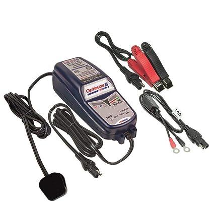 Optimate 5-6v And 12v Voltmatic Batería Cargador y Contioner ...