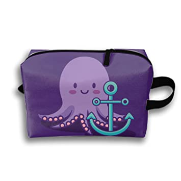 3fbf84692420 Amazon.com : Cosmetic Bags Cute Octopus Icon Portable Travel ...
