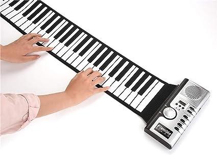 CZLABL Piano Portátil, Piano De Teclado Flexible Flexible De ...