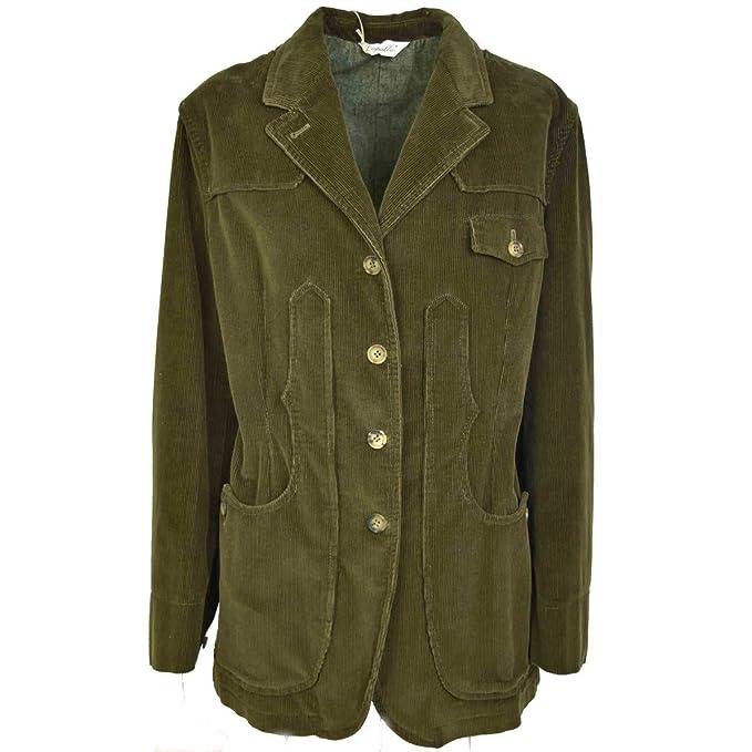Capalbio Giacca Donna Maremmana Verde Militare Velluto