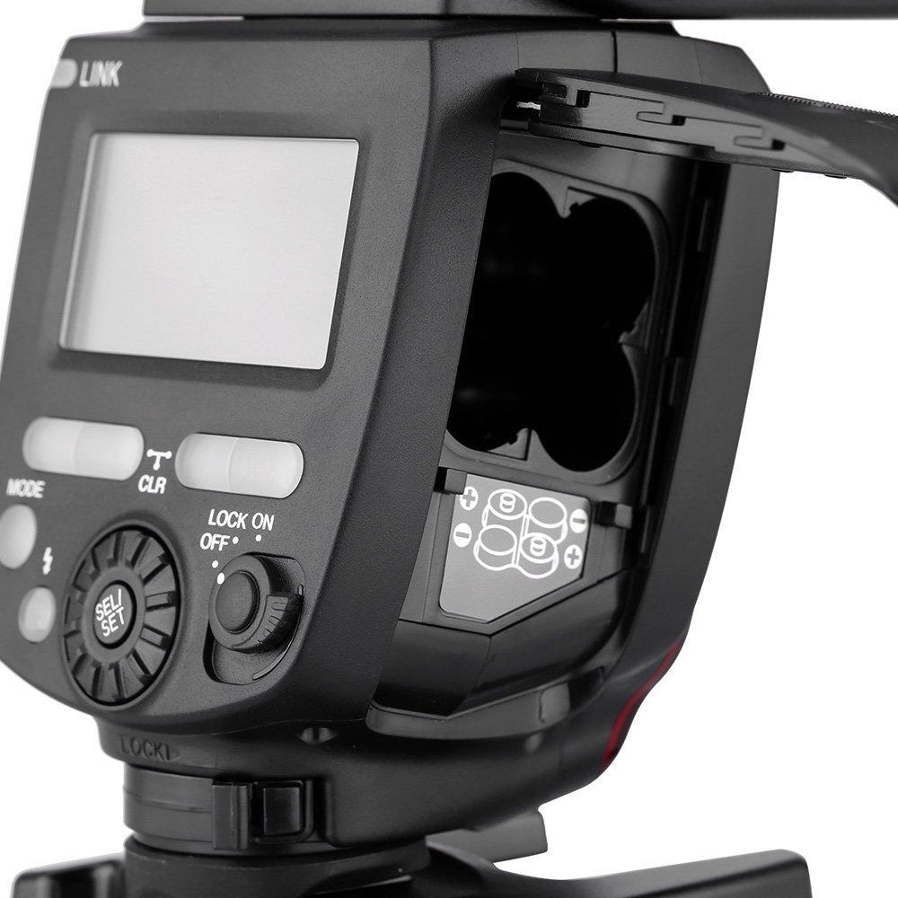WINGONEER Difusor I//II RF- 602 para Canon Nikon Pentax Panasonic Yongnuo YN560 IV 2.4GHz Flash Speedlite YN560 IV con Transceptor de Apoyo YN560-TX RF- 603