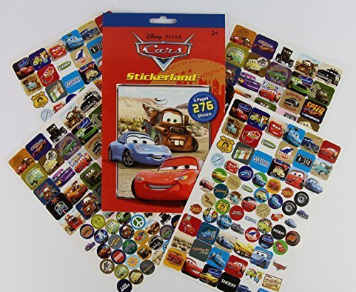 Disney Pixar CARS Reward Stickers - 276 Stickers!