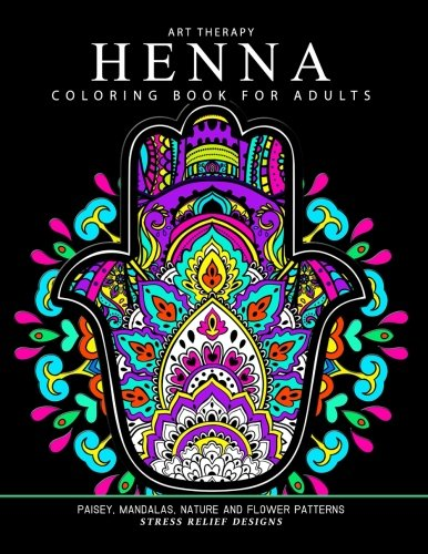 Henna Coloring Book for Adults: Adult Coloring Books