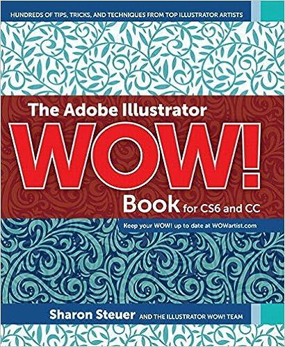 The Adobe Illustrator Cs6 Wow Book
