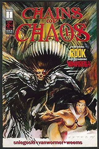 CHAINS of CHAOS #2 Harris comic book 12 1994 1st Printing Vampirella - Cha Chains