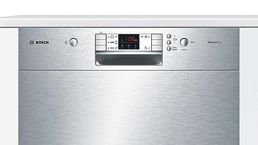 Bosch SMU50M75EP lavavajilla - Lavavajillas (Semi-incorporado ...