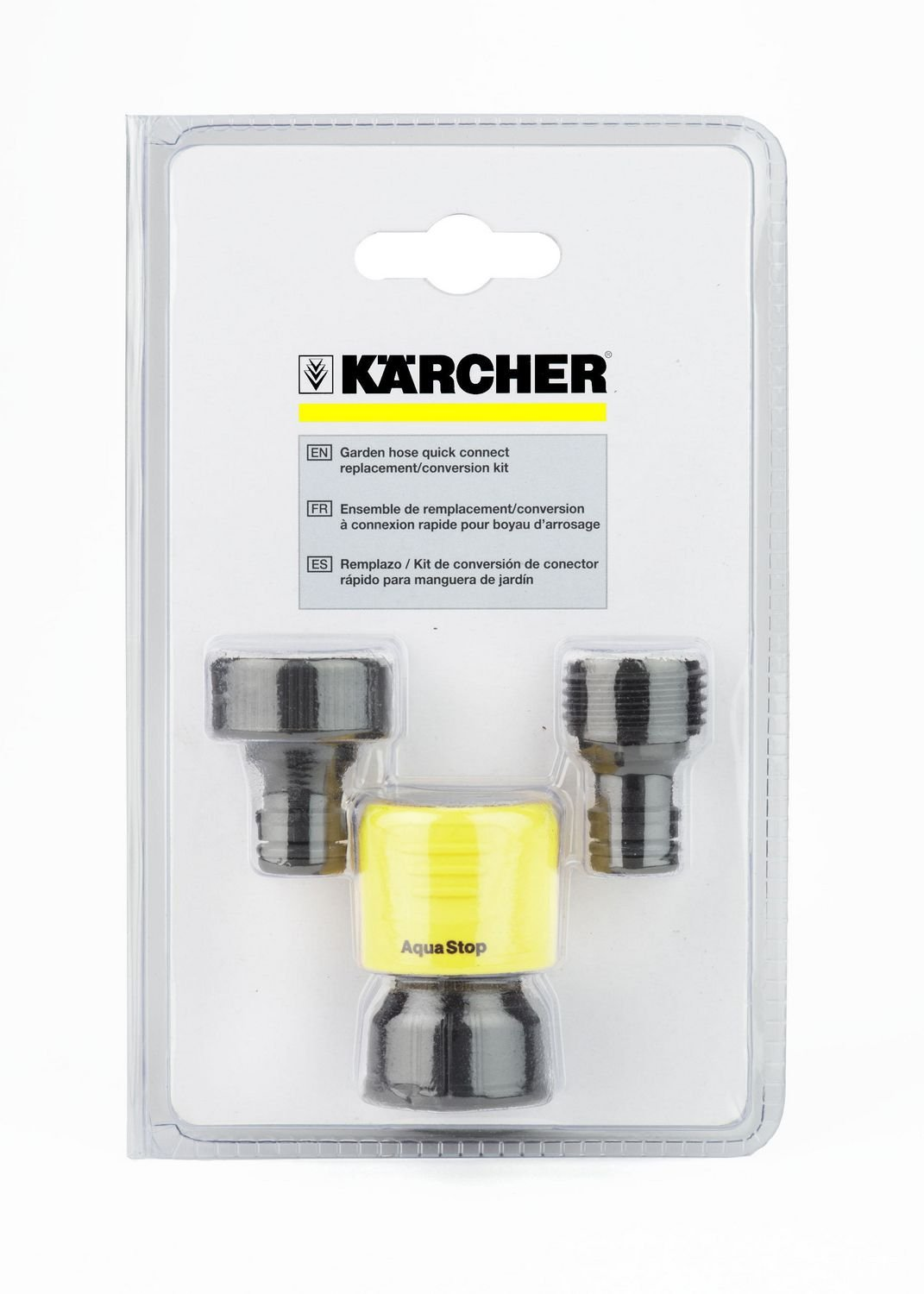 Amazon.com : Karcher Replacement Quick Connect Adapter Kit for Electric &  Gas Power Pressure Washers : Garden & Outdoor