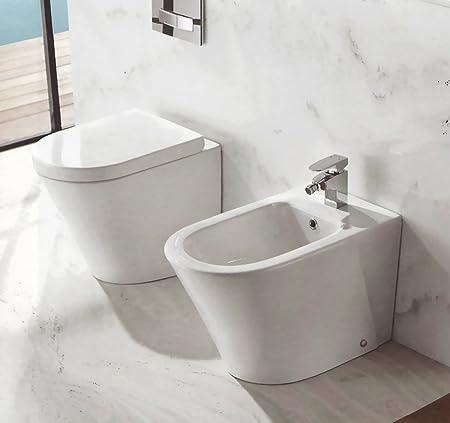 Yellowshop Floor Standing Flush Mounted Bathroom Set Oasy Wc