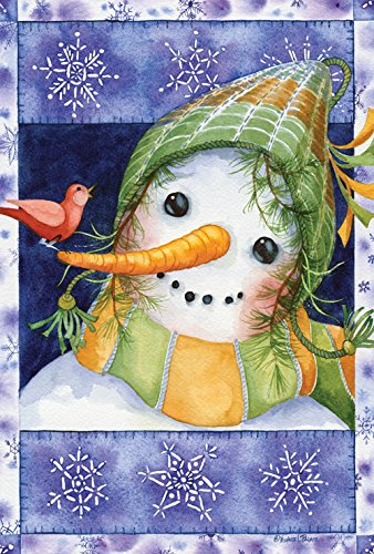 Toland Home Garden Snow-Kid 12.5 x 18 Inch Decorative Winter