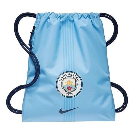1bf2f3aa96 Nike 2017-2018 Man City Allegiance Gym Bag (Field Blue)
