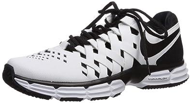 Buy Nike Mens Lunar Fingertrap TR 4E White Black Size 13 at