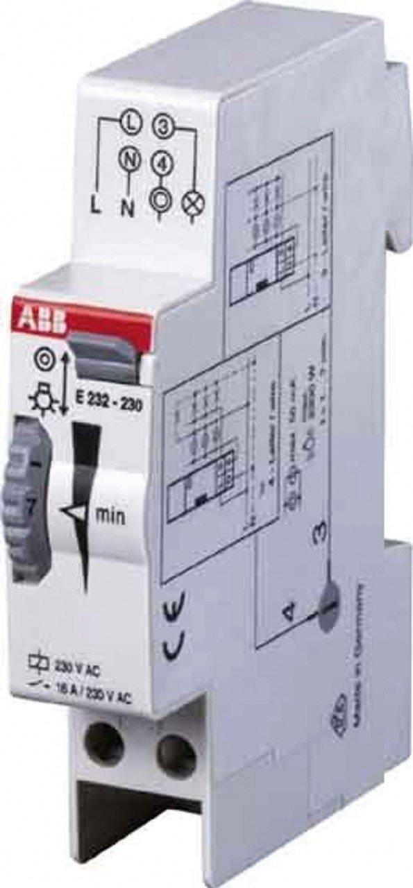 Abb-entrelec e232e-230n - Minutero escalera electronico e232e-230n ...