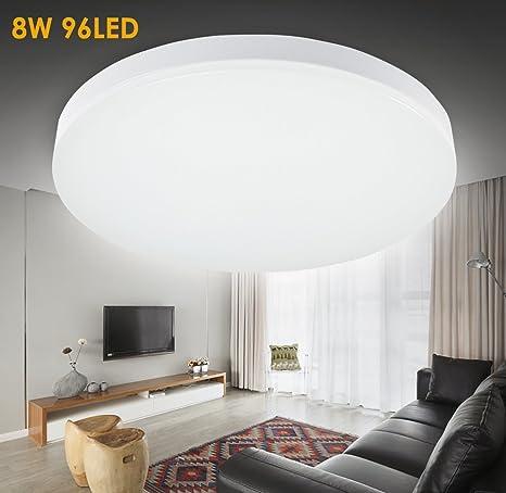 Bon Su0026G LED 12.99 Inch Flush Mount Ceiling Light 15W 1050 1200lm 5000k(Cool