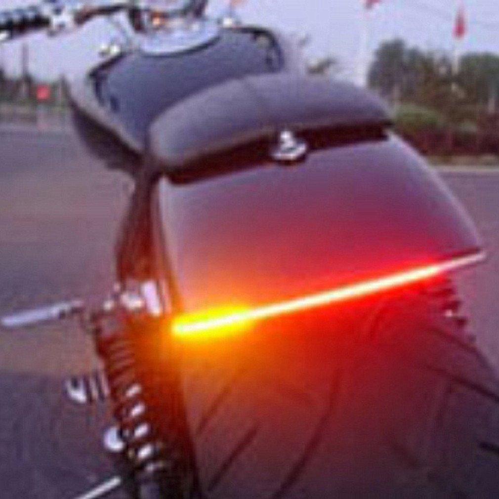 Amazon qiorange tail brake signal function 5050 led strip bar amazon qiorange tail brake signal function 5050 led strip bar light for car motorcycle license plate automotive aloadofball Gallery