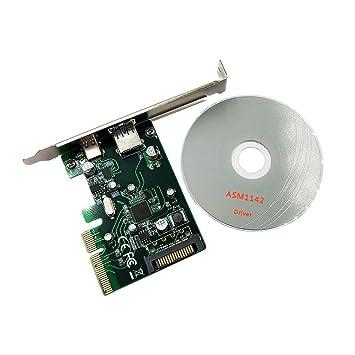 PCI-E a USB3.1 (tipo A + tipo C) PCI Express tarjeta de ...