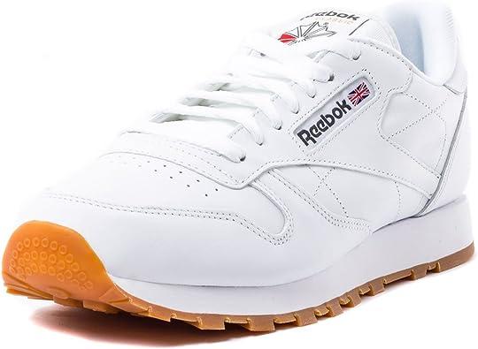Reebok Cl Lthr, Zapatillas de Deporte para Hombre: Amazon.es: Deportes y aire libre