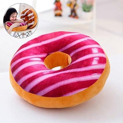 Amazon.com: Cute Sweet bollos delicioso Donut de peluche de ...