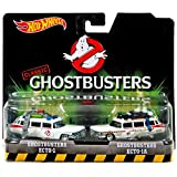 Hot Wheels Ghostbusters Ecto-1 and Ecto-1A Die-cast Vehicle 2-pack