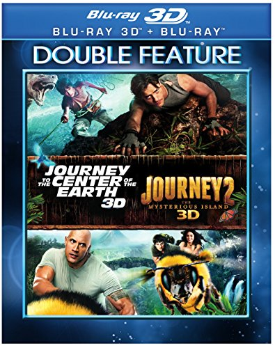 Journey Double Feature (Journey to the Center of the Earth / Journey 2: The Mysterious Island) [Blu-ray] (Yes Journey To The Center Of The Earth)
