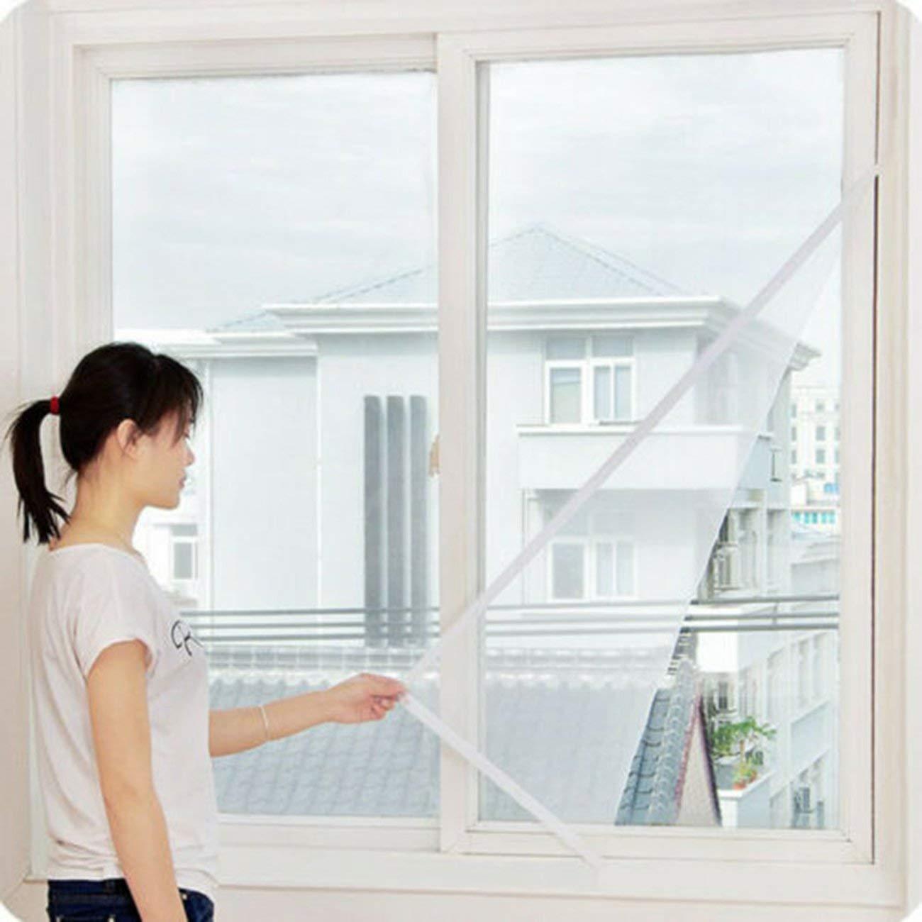 1,3 Mt DIY Fliegengitter Vorhang Insektenschutz Fliegen Moskito Bug Fenster T/ür Mesh-Bildschirm f/ür Home Kitchen verwenden Praktische 1,5