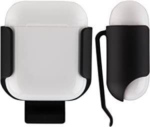 ColorCoral AirPods Case Ultra Light Belt Clip Pocket Holder for Apple Airpods and AirPods 2nd Generation